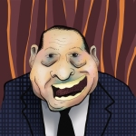 Governor of Maine Paul Lepage by Illustrator Aaron Mitchell