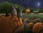 Cinderella: Mice and Lizards become horses and coachmen, the pumpkin a handsome coach.