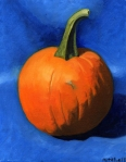 Pumpkin Oil Painting