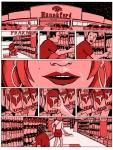 She Worte Razor Red Hannaford Comic Book