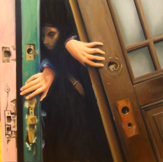 Aaron Mitchell Exit Oil Painting