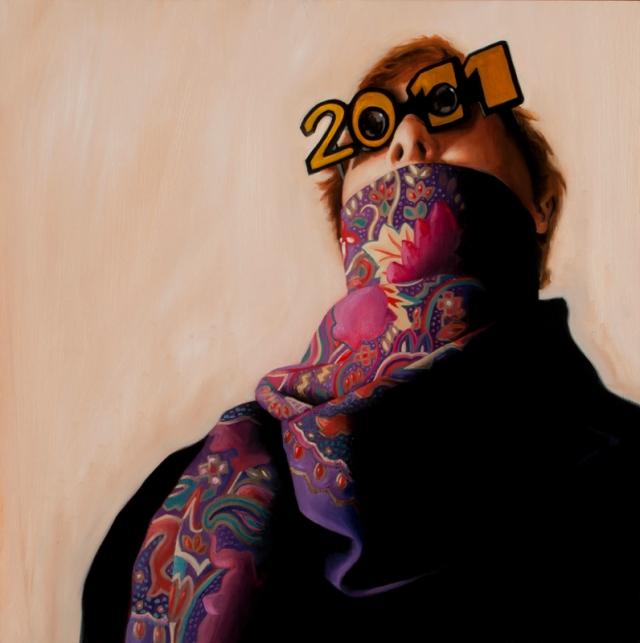 Aaron Mitchell 2011 Painting