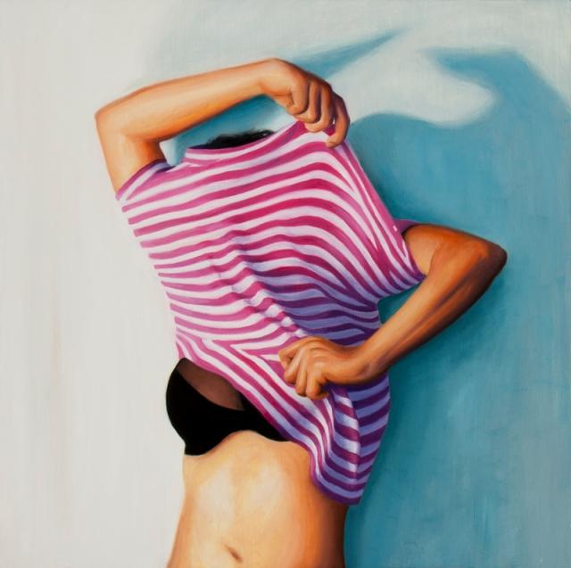 In Between Aaron Mitchell Oil Painting