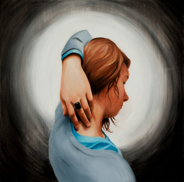 The Black Ring Aaron Mitchell Painting
