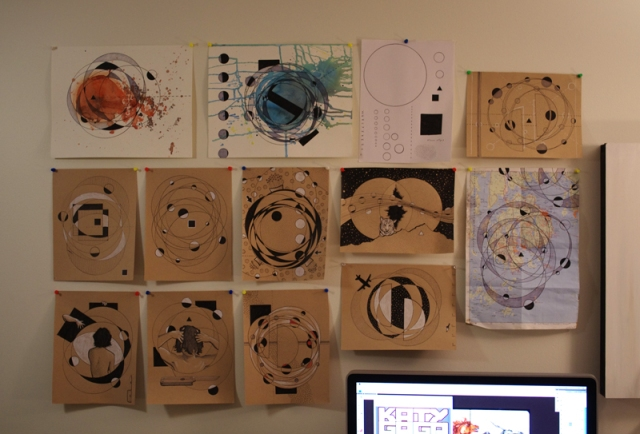 aaron mitchell circular wall